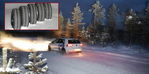 Schmale oder breite Reifen besser auf Schnee?
