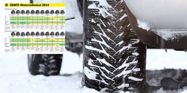 Winterreifentest 2014/2015: Die Tops & Flops