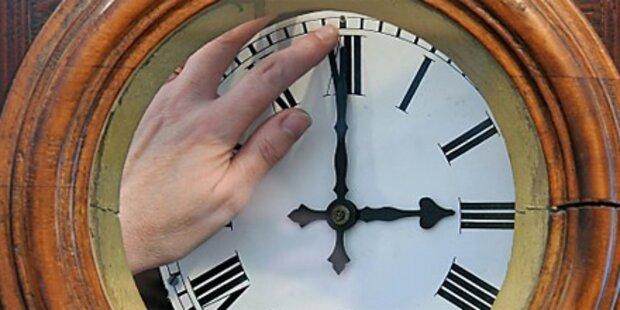 Sonntag wird die Uhr umgestellt