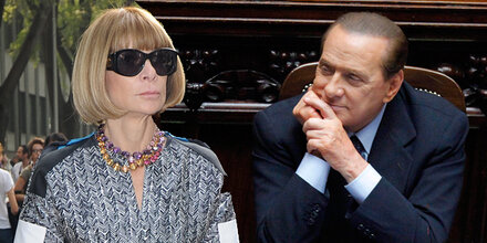 Vogue-Chefin angewidert von Berlusconi