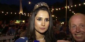 Flüchtling ist Weinkönigin