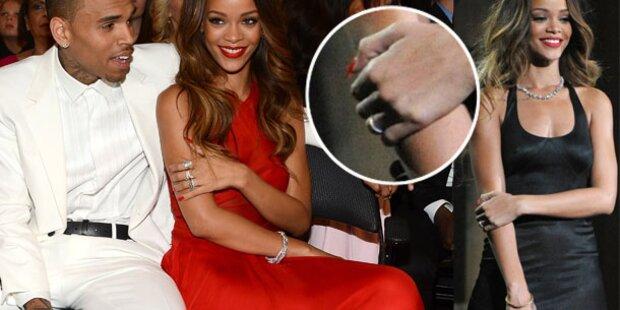 Haben sich Rihanna & Chris Brown verlobt?