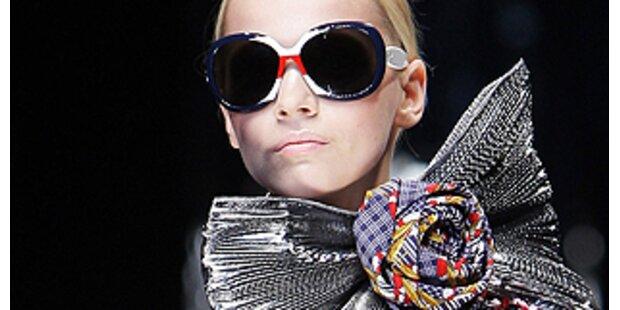 Die neuen Sonnenbrillen: Viel Strass und Dekor