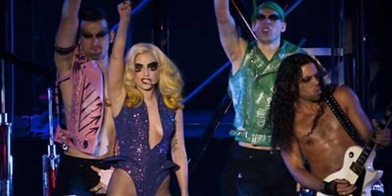 So Gaga werden Europa-Shows der Lady