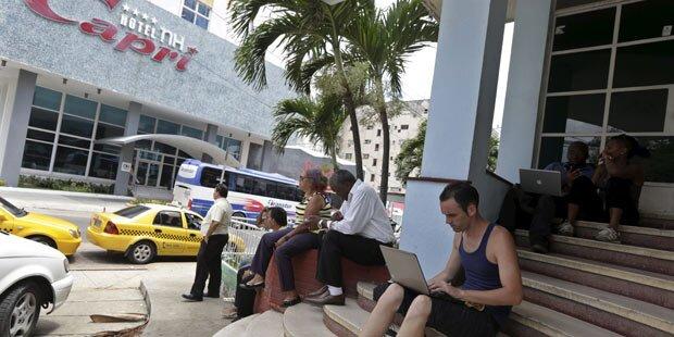 Kuba bekommt WLAN-Hotspots