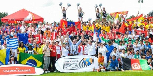 Casinos Austria Integrationsfußball WM 2014