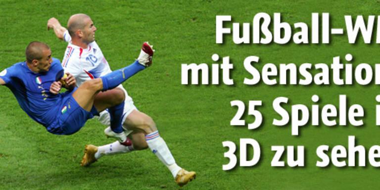 25 WM-Spiele als 3D-Erlebnis
