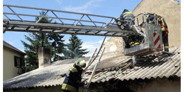 Zwei kleine Kinder bei Brand gestorben
