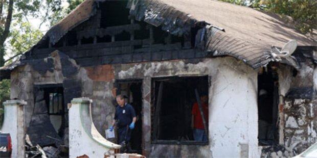 Sechs Tote bei Wohnhausbrand in den USA