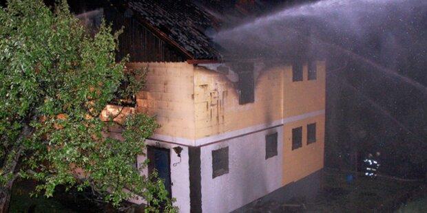 79-Jähriger stirbt bei Wohnhausbrand