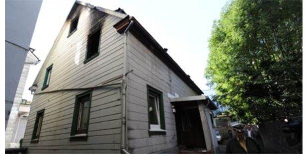 Vier Tote bei Brand in Wohnhaus