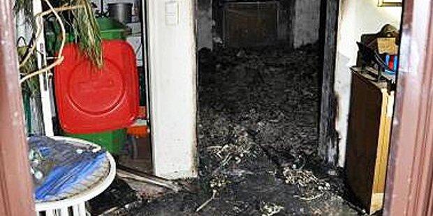 Brand in Wien - Frau in Lebensgefahr