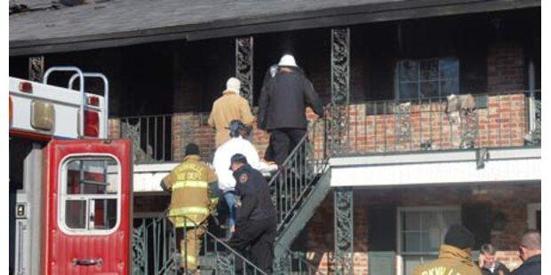 Neun Tote bei Wohnungsbrand