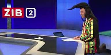 So verkleidete sich ORF-Wolf