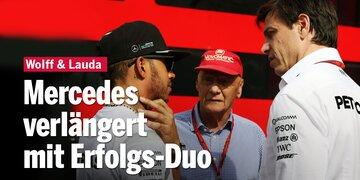 Wolff & Lauda bis 2020: Mercedes verlängert mit Erfolgs-Duo