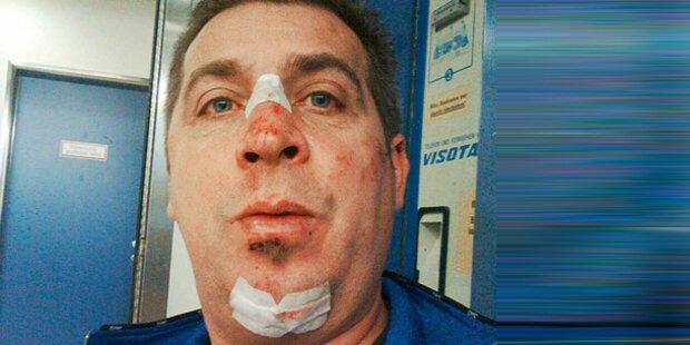 Hooligan verprügelt FP-Politiker