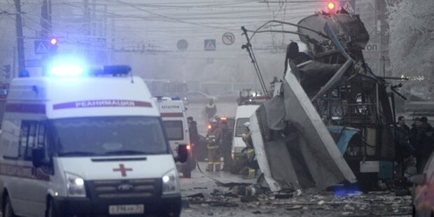 Bombe in voll besetztem Linienbus