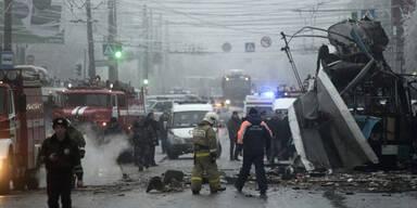 Olympia-Terror: Wieder Anschlag in Wolgograd