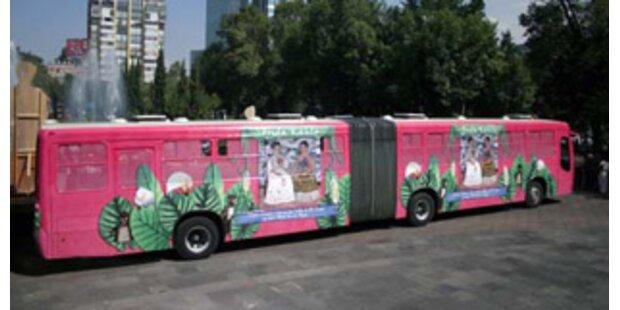 Mexiko-Stadt lässt Busse nur für Frauen fahren