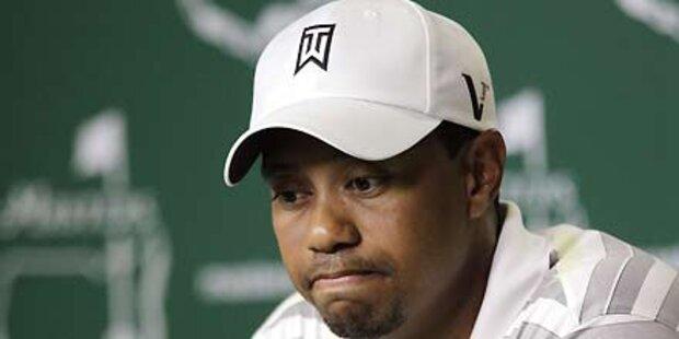 Tiger Woods entschuldigt sich bei Fans