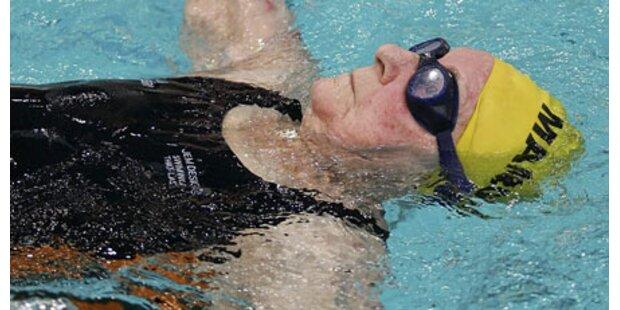 Mit 99 Jahren zu Gold geschwommen