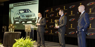 """Diesel S-Klasse ist """"World Green Car 2012"""""""
