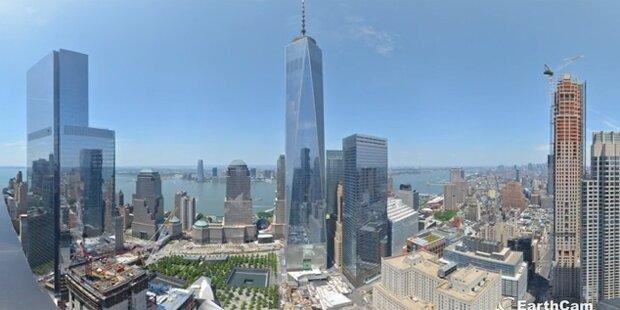 Video zeigt Bau des World Trade Center
