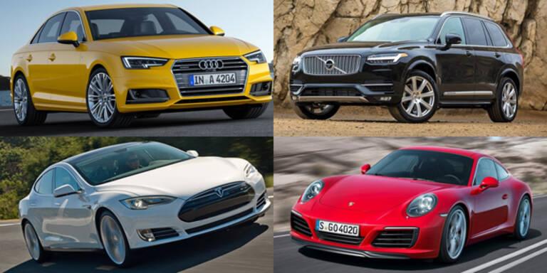 """Das sind die """"World's Best Cars"""""""