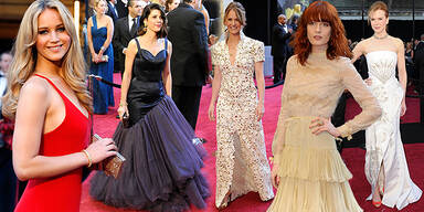 Die Flop-Roben der Oscars 2011