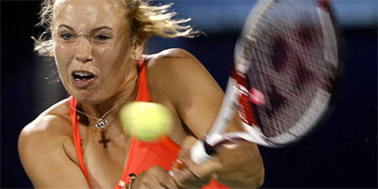 WTA-Leaderin Wozniacki im Achtelfinale out
