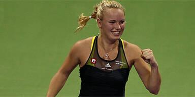 Wozniacki überwintert als Nr. 1