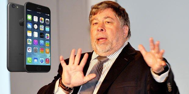 """Apple-Gründer: """"iPhone 6 kam viel zu spät"""""""
