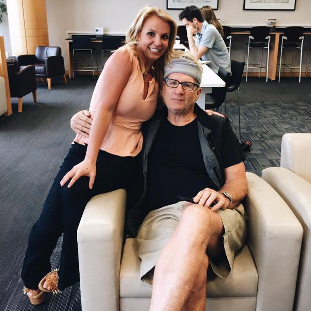 Britney Spears & Ed O'Neill