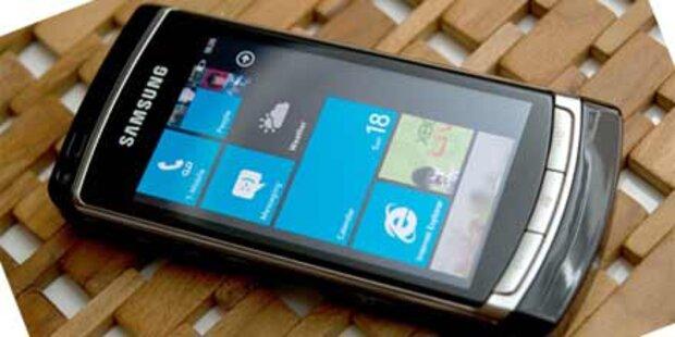 Erste Tests von Microsofts Windows Phone 7