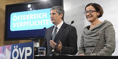 Michael Spindelegger; Johanna Mikl-Leitner