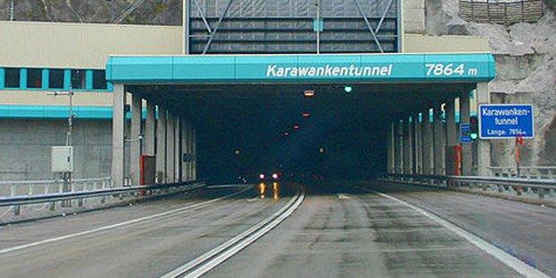 Karawanken-Tunnel evakuiert