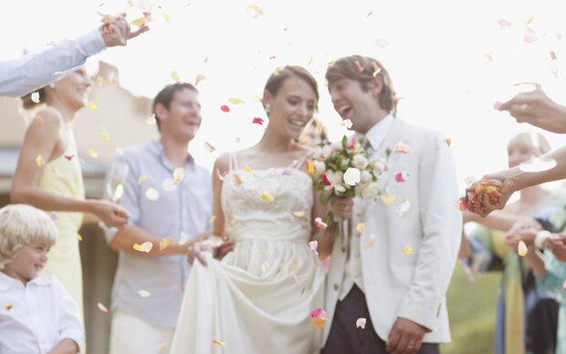 Es wird mehr geheiratet und weniger oft geschieden