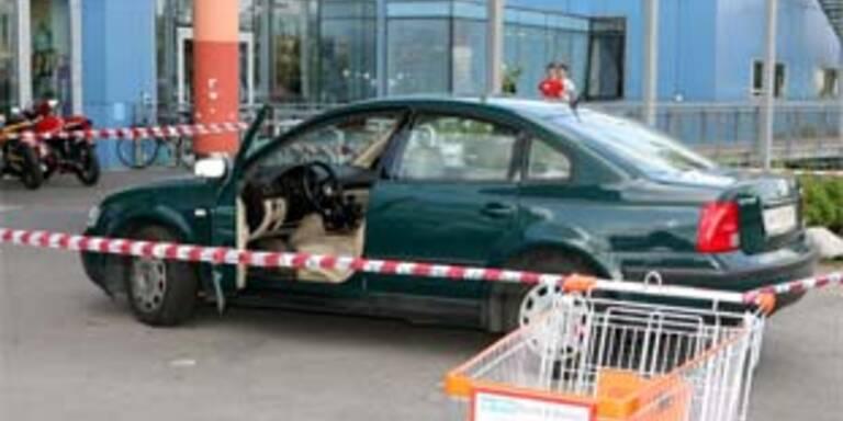 Tatort: In diesem Auto wurde das Opfer niedergeschossen