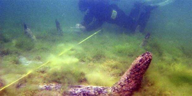 Ältestes Wrack im Bodensee entdeckt