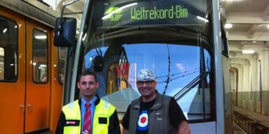 Wiener Linien: Weltrekordversuch gescheitert