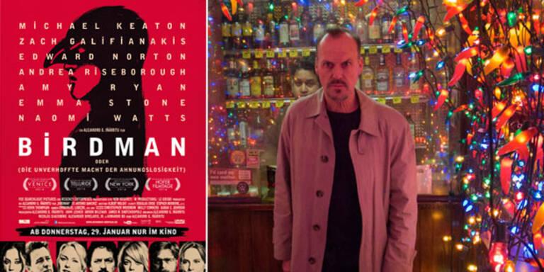 """""""Birdman"""" mit Michael Keaton"""