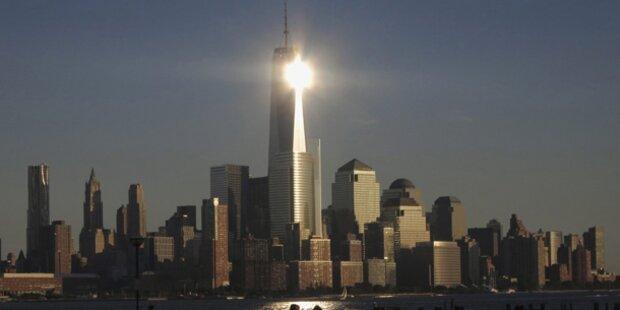 USA: World Trade Center ist höchstes Gebäude
