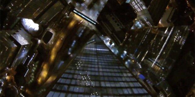 Blamage für Terrorabwehr: Basejumper sprangen vom neuen WTC