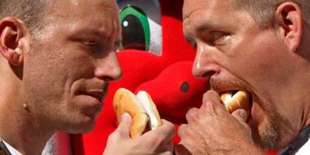 Hot Dog Kampf in den USA endet mit Eklat