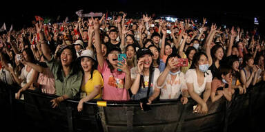 Konzert in Wuhan