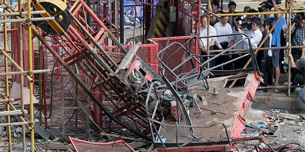Horror-Unfall: Aufzug stürzt 34 Stockwerke ab