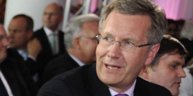 Wulff soll neuer Bundespräsident werden