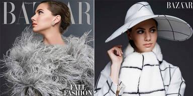 Audrey Hepburns Enkelin modelt jetzt