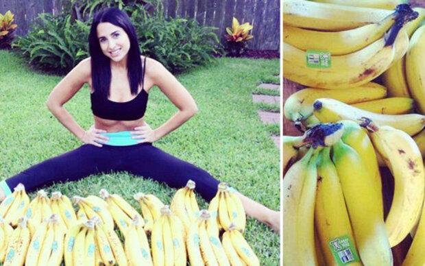 Schräge Instagram-Diät: 30 Bananen am Tag