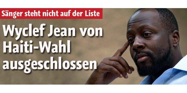 Haiti-Wahl: Wyclef Jean ausgeschlossen